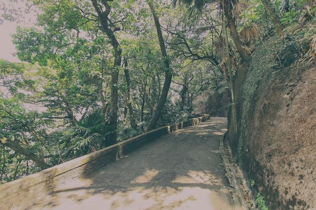 Hong Kong, ścieżka na wzgórze