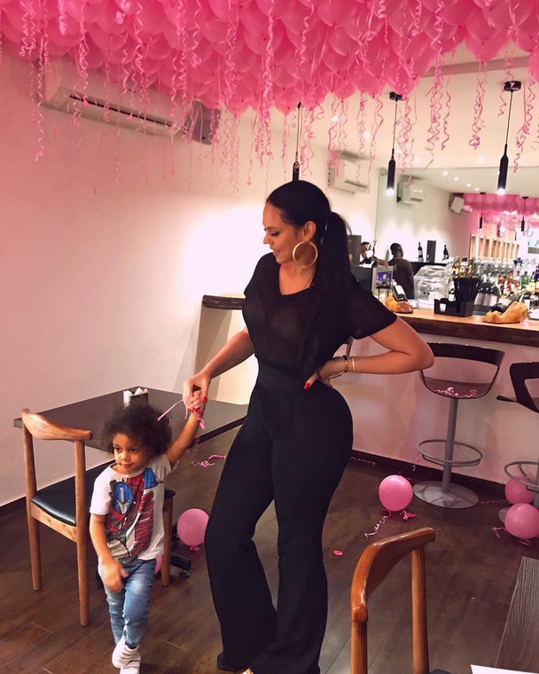 Sonia Lareinna and her son [Instagram/SoniaLeReinaa]