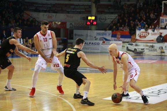 Ilija Đoković je protiv Dunava imao 18 poena