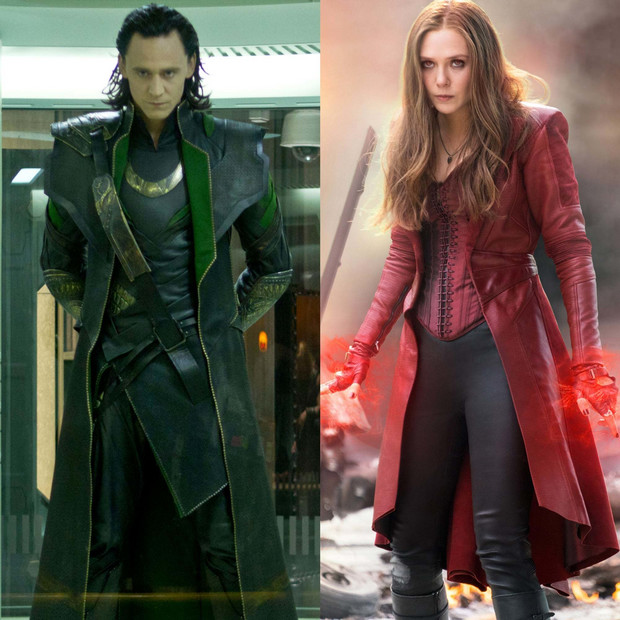 Loki și Scarlet Witch