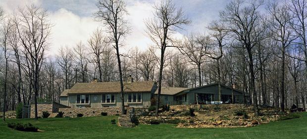 Rezydencja Camp David w roku 1961