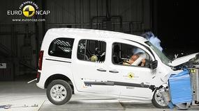 Mercedes Citan w teście zderzeniowym