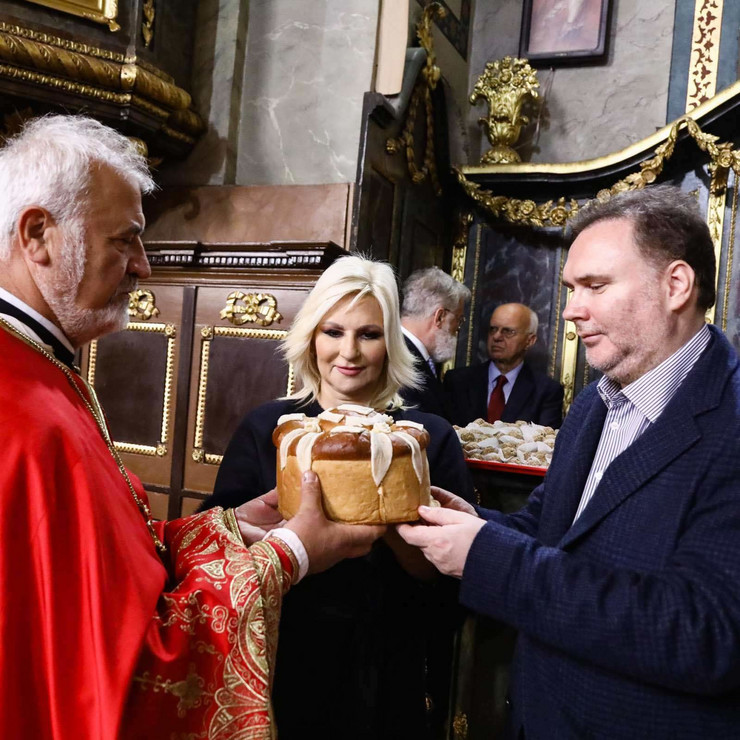 Zorana Mihajlović slavi Aranđelovdan