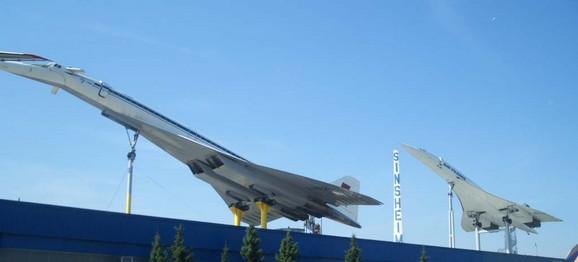 Tupoljev Tu-144 i Konkord