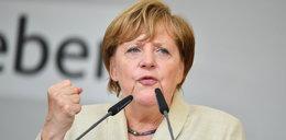 Angela Merkel upokorzona w Heidelbergu. Pomidory poleciały w jej stronę