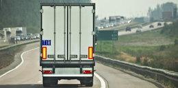 Kierowca zmarł w trakcie jazdy ciężarówką. Zatrzymał ją świadek
