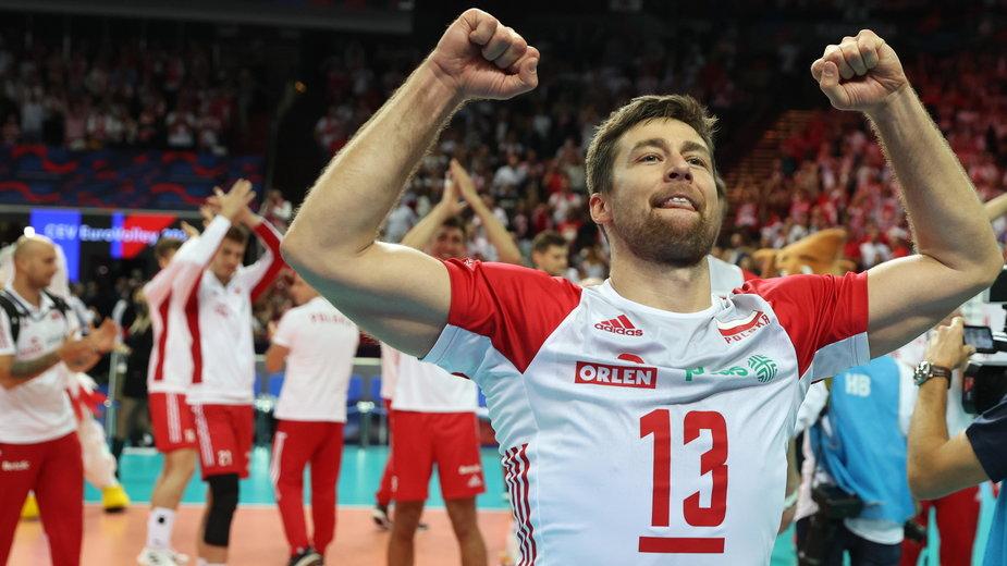 Michał Kubiak po meczu z Serbią