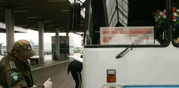 Zatrzymano napromieniowany polski autokar