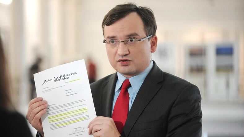 Ziobro: Premier Tusk i marszałek Kopacz chronią pedofilów