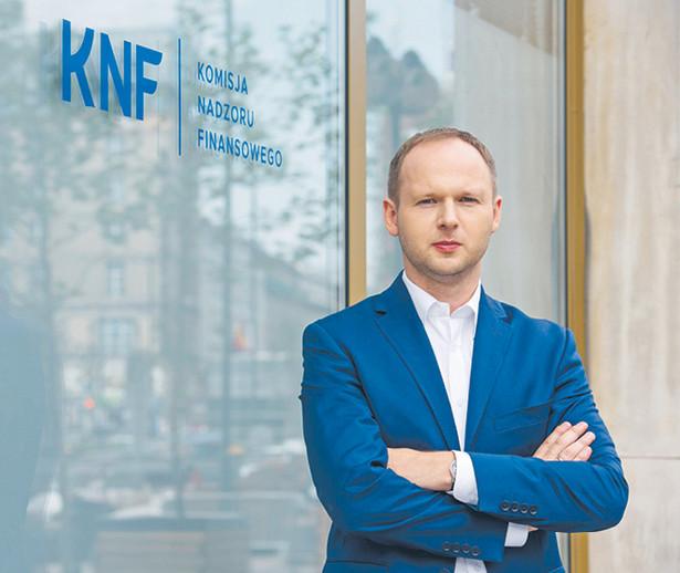 prof. Marek Chrzanowski przewodniczący Komisji Nadzoru Finansowego