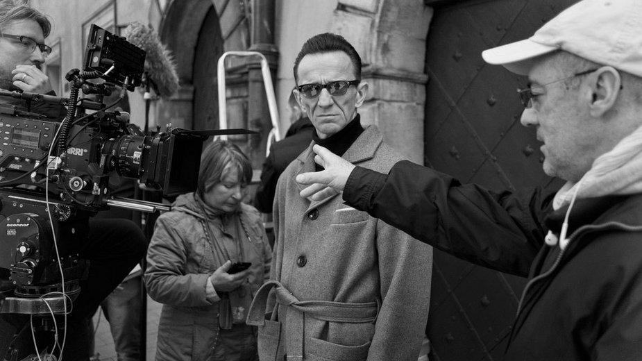 """Pan T."": zdjęcie z planu (fot. Hubert Komerski © Propeller Film)"