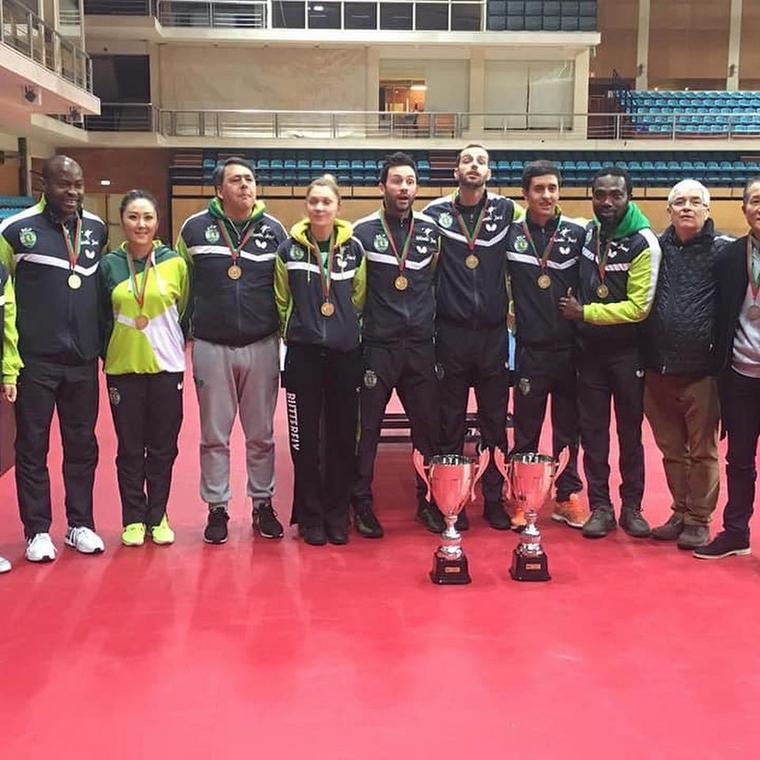 Sporting retained their trophy for the fifth [Aruna Quadri]