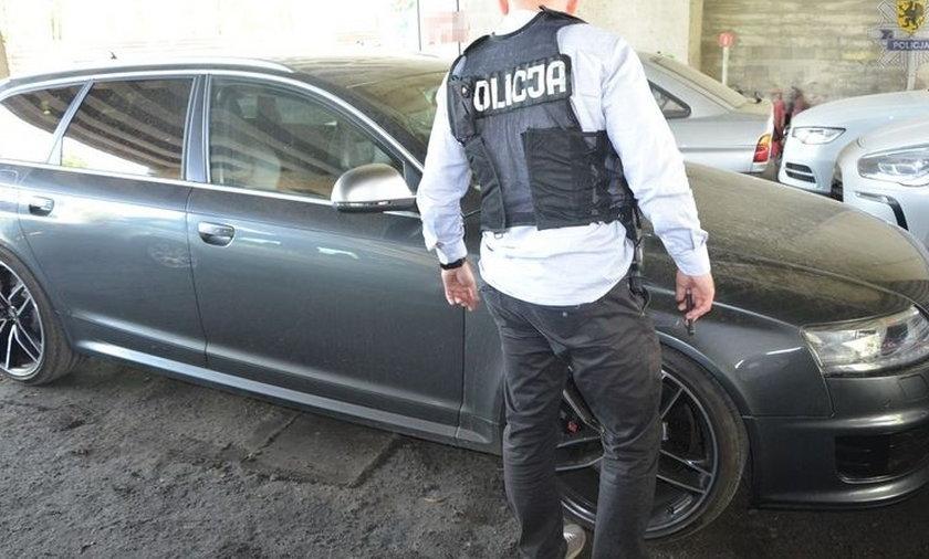 Policja odzyskała auto warte 200 tys. zł