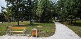 Nowy park na Dębcu