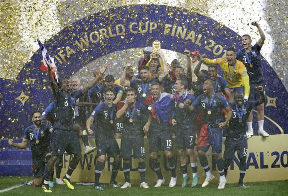 Novi vladari fudbalske planete - reprezentativci Francuske
