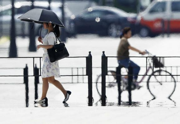 Toplotni talas u Japanu