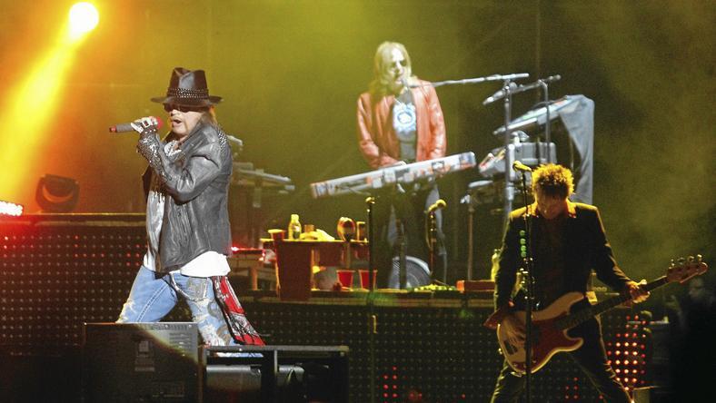 Zespół Guns N' Roses zagra w Chorzowie 9 lipca