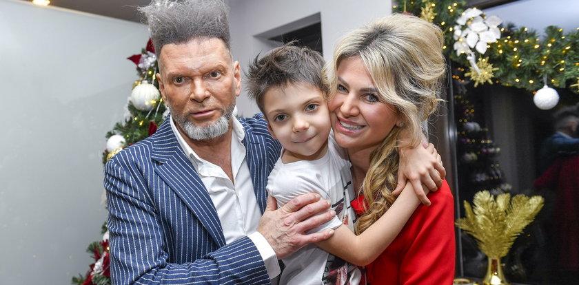Rutkowski zaszalał na święta. Co za fryzura! Stoi lepiej niż choinka!