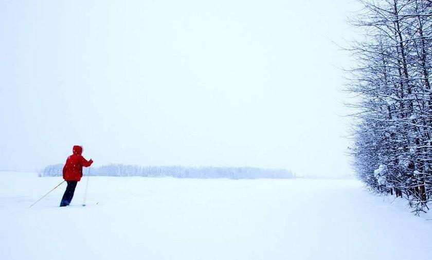 Położna na nartach
