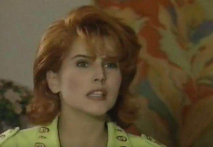 Popularna Anči, devedesetih