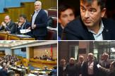 Crna Gora opozicija kolaž