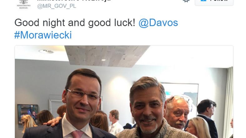 Tweet Ministerstwa Rozwoju