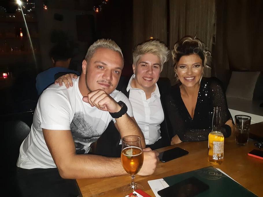 Nenad Marinković Gastoz, Jovana Tomić Matora i Kija Kockar