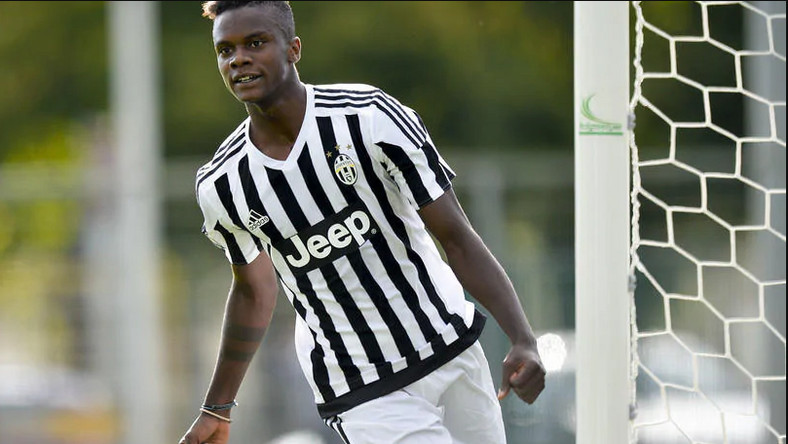 King Udoh is said to be the first footballer to test positive for he virus (Juventus)