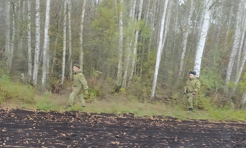 Nowe siły na granicy białorusko-polskiej. Zdjęcie pochodzi z Twittera Straży Granicznej.
