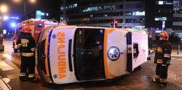 Ford uderzył w ambulans transportujący krew