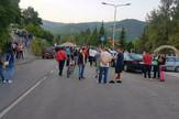 Blokada magistrale u Prijepolju