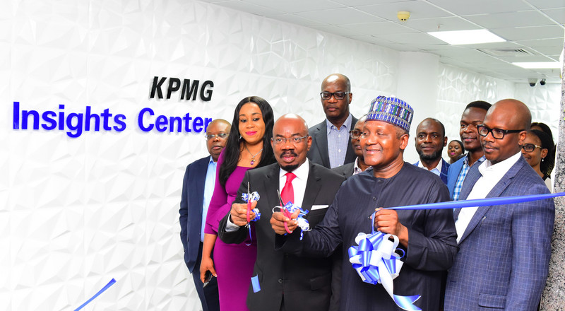 KPMG in Nigeria launches Insights Centre, the firm's first Digital Centre in Lagos