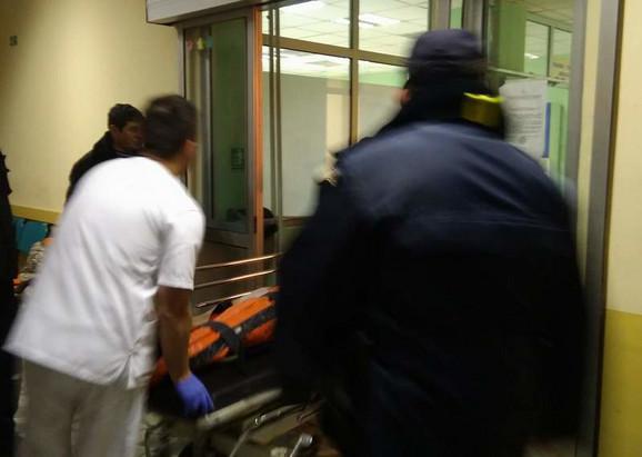 Povređeni u udesu u bolnici