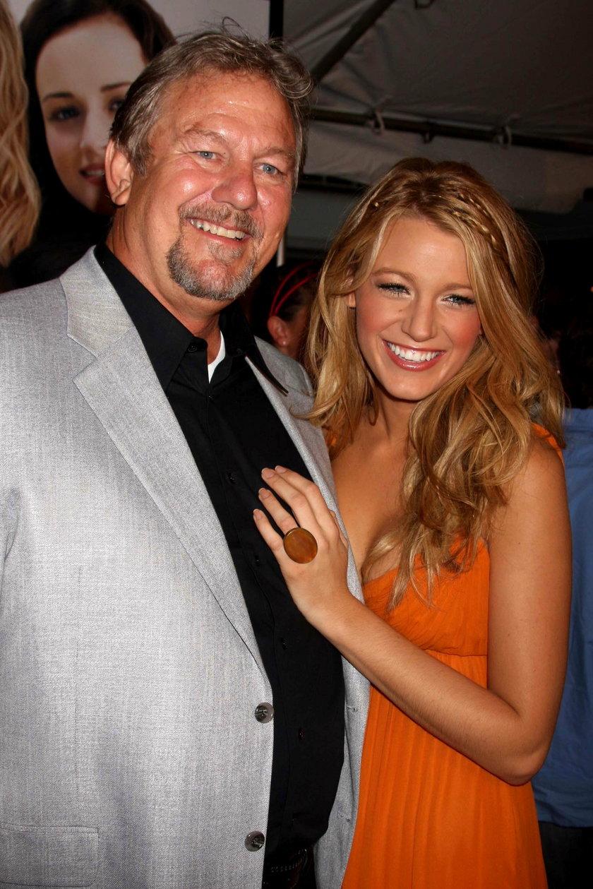 Ernie Lively z córką Blake