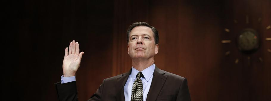 FBI Director James Comey testifies before the Senate Judiciary Committee hearing on 'Oversight of the Federal Bureau of Investigation.'
