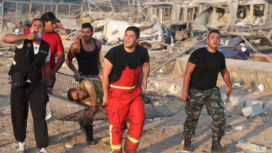 Liban: wybuch w Bejrucie