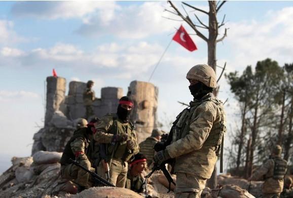 Turska vojska u Afrinu