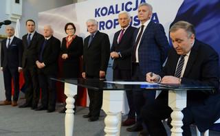 Schetyna: Partie nie powinny być w pierwszej linii projektu Koalicji Europejskiej