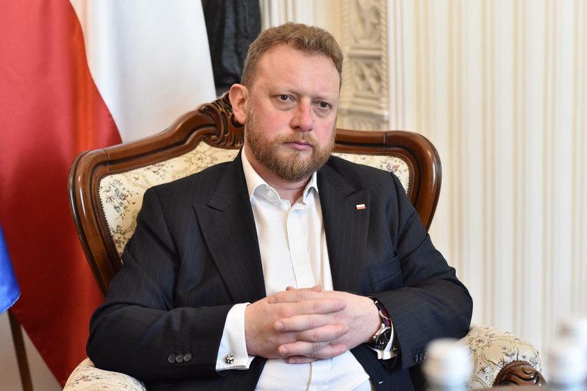 Łukasz Szumowski były minister zdrowia
