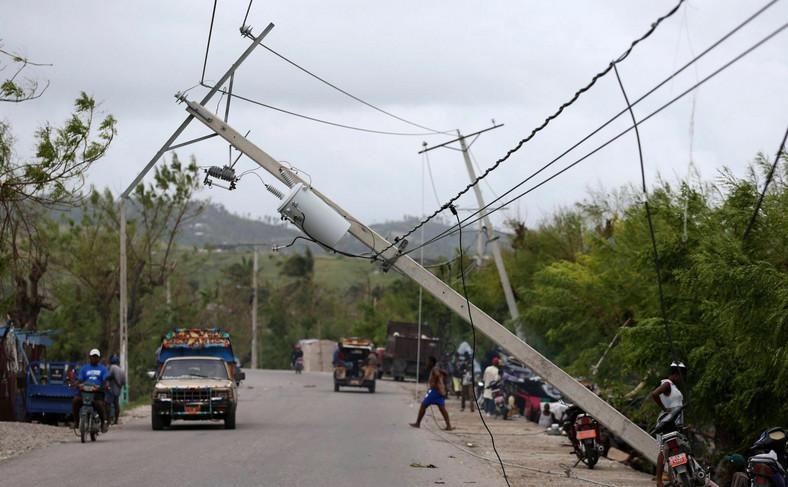 Huragan Matthew. Zniszczenia na Haiti