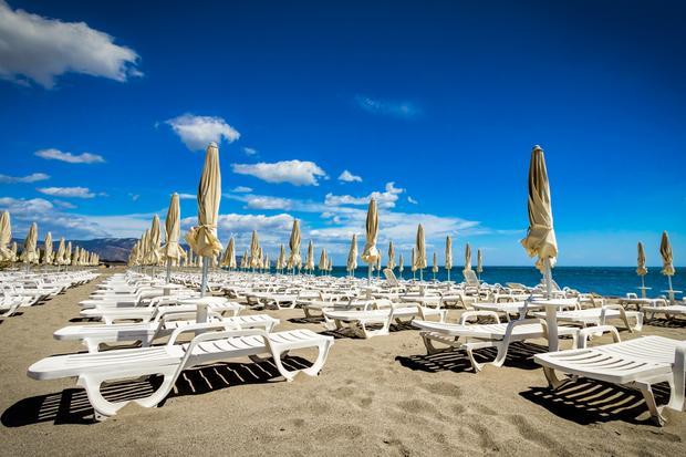 Plaża, Włochy