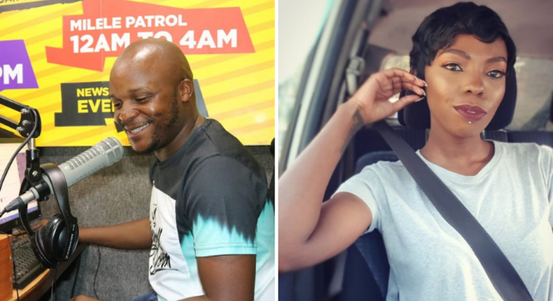 Adelle Onyango blasts Jalang'o after 'ignorant and reckless' comments following Ivy Wangechi's death