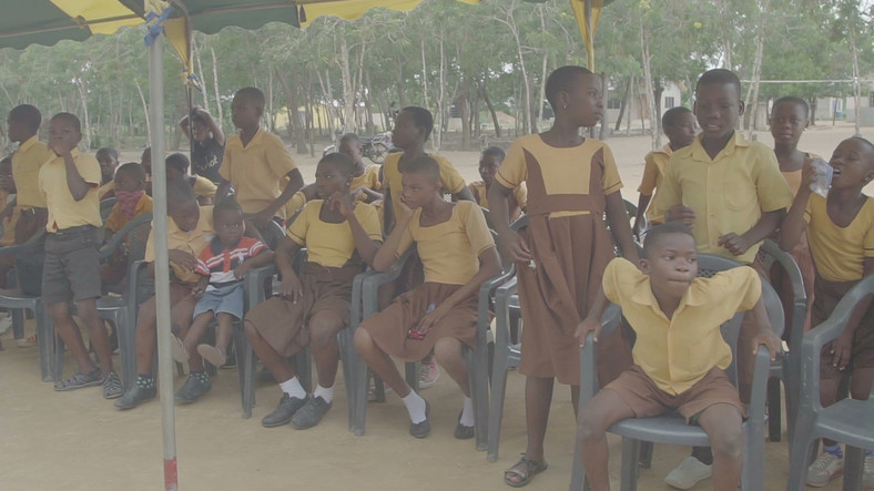 Future leaders of Dove, the Ghanaian village where childbirth is a superstitious crime