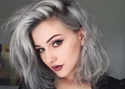 Granny Hair Siwe Włosy Które Pokochał świat Styl życia
