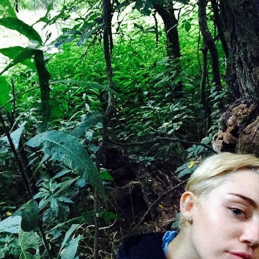 Miley Cyrus na kompromitujących zdjęciach