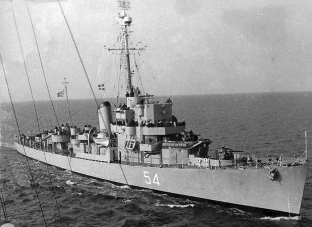 "USS ""Eldridge"""
