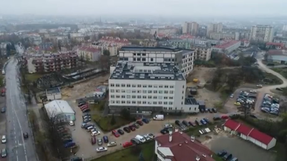 Nowa siedziba szpitala MSWiA w Kielcach