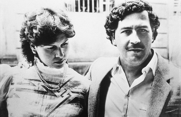 Pablo Eskobar i supruga Viktorija