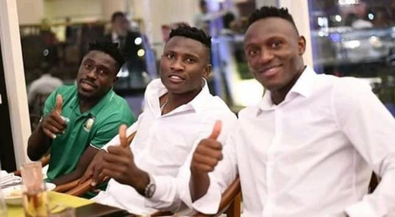 Victor Wanyama gives Harambee Stars a special treat ahead of clash with Senegal [Photos]