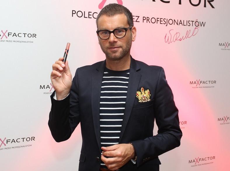 Wojciech Rostowski - makijażysta Max Factor zachwala flamaster do ust LIPFINITY LIP TINT